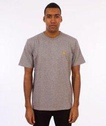 Carhartt-Chase T-Shirt Grey Heather/Gold
