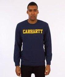 Carhartt-College Sweatshirt Bluza Blue/Yellow
