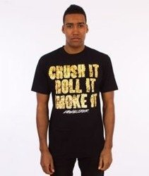 Equalizer-Crush It  T-shirt Czarny