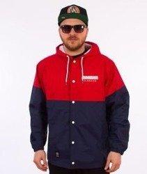 Mass-Sprint Jacket Kurtka Granatowa/Czerwona