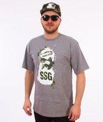 SmokeStory-Spray T-Shirt Szary