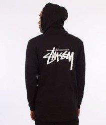 Stussy-Original Stock Hood Longsleeve Kaptur Black
