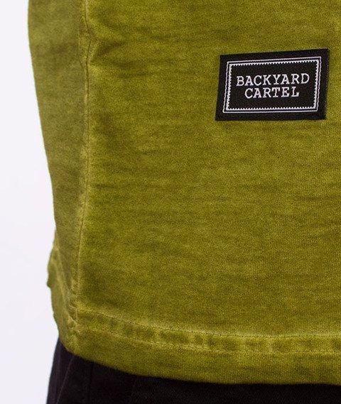 Backyard Cartel-Combat T-Shirt Zielony
