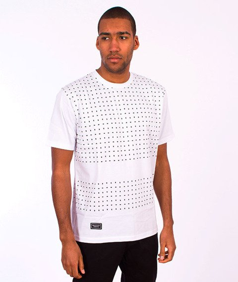 Backyard Cartel-Paisley T-Shirt White