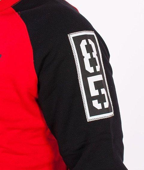 Biuro Ochrony Rapu-BOR 85 Bluza Czerwona/Czarna