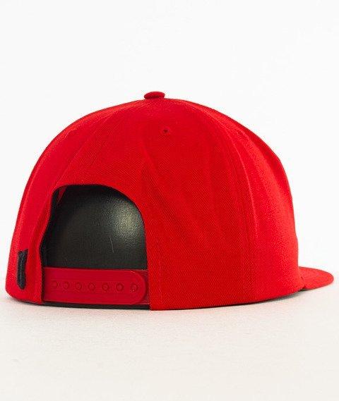 Biuro Ochrony Rapu-Classic Snapback Czerwony