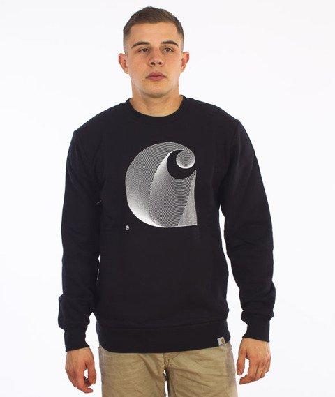 Carhartt-Dimensions Sweatshirt Cotton Black/White