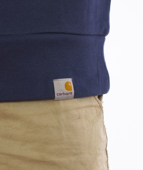 Carhartt-Dimensions Sweatshirt Cotton Blue/White