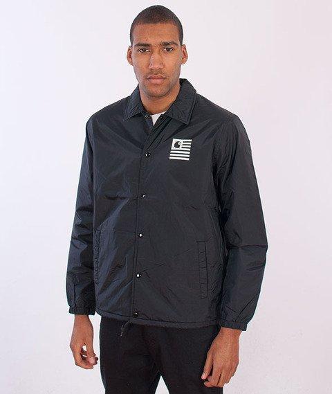 Carhartt-State Coach Jacket Black/White