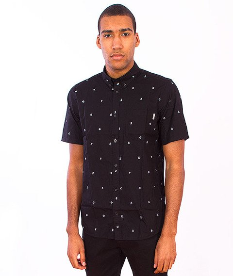 Carhartt WIP-Drop Cap Shirt Black/White