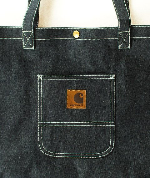 Carhartt WIP-Simple Tote Bag Denim Blue Rigid