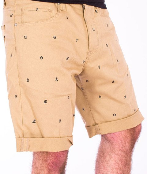 Carhartt WIP-Swell Short Safari/Duke Blue Rigid