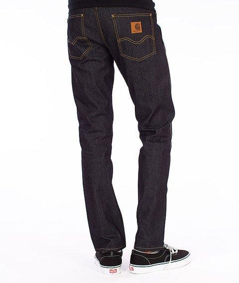 Carhartt WIP-Western Pants Spodnie Blue Rigid