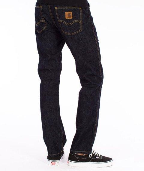 Carhartt WIP-Western Pants Spodnie Blue Rinsed