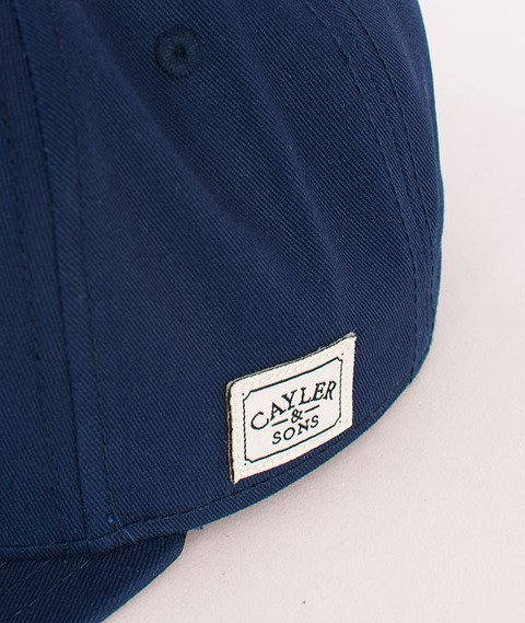 Cayler & Sons-Crew Cap Deep Navy/Gold/White