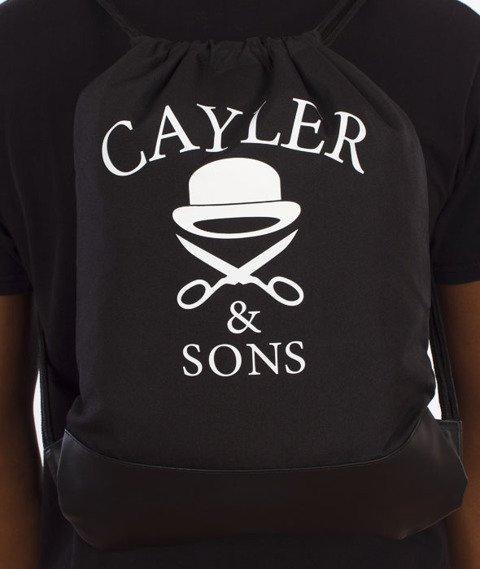 Cayler & Sons-Erbz Gym Bag Grean Leaf Camo/Black