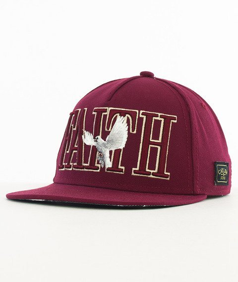 Cayler & Sons-Faith Snapback Maroon/Black