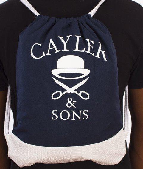 Cayler & Sons-Grime Gym Bag Navy/Grey/White
