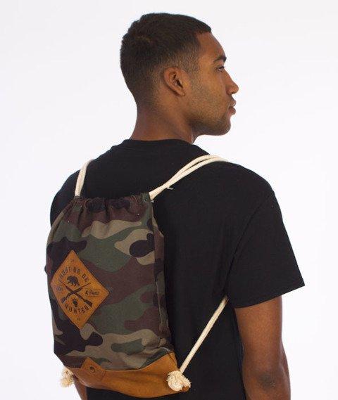 Cayler & Sons-Hunting Gym Bag Woodland/Brown/White
