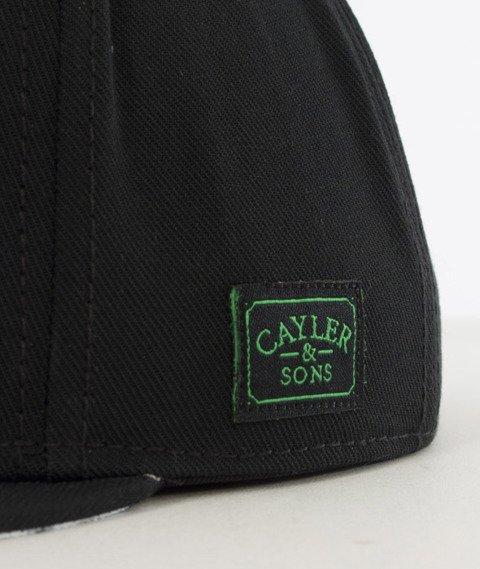 Cayler & Sons-Lazer Kush Cap Snapback Black/White