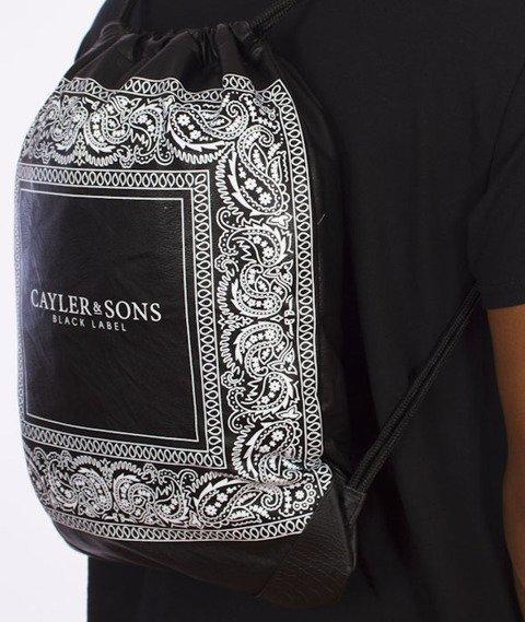 Cayler & Sons-Paiz Gym Bag Black/White