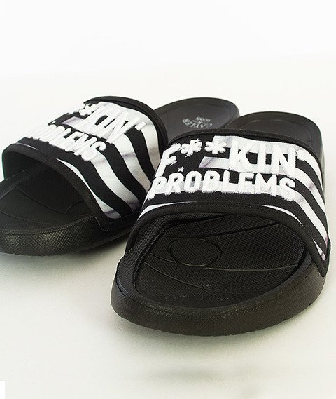Cayler & Sons-Problems Sandals Black/White