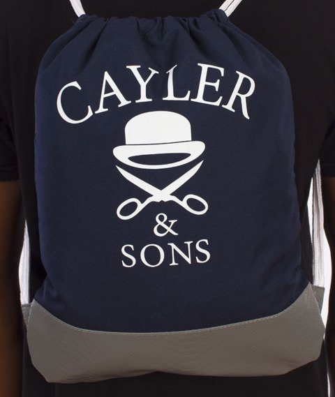 Cayler & Sons-Salute Gym Bag Navy/Grey/Multicolor