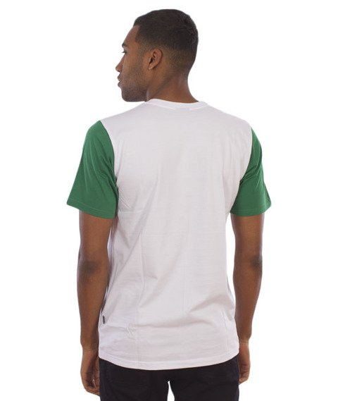 Chada-Palę T-Shirt Biały/Zielony