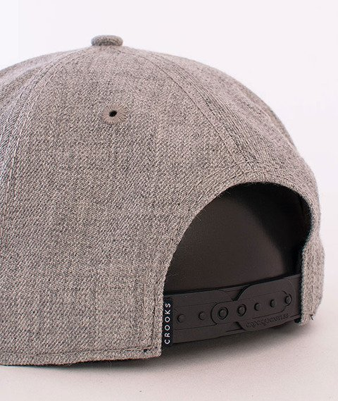 Crooks & Castles-Hybrid C Snapback Speckle Grey