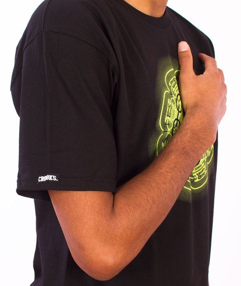 Crooks & Castles-Mirrors T-Shirt Black
