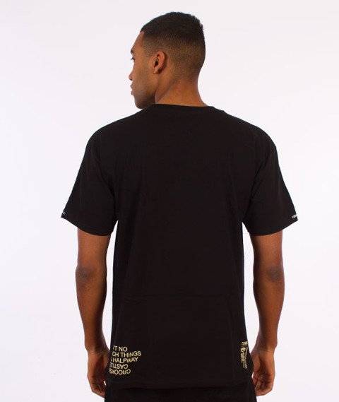 Crooks & Castles-You Mad T-Shirt Czarny