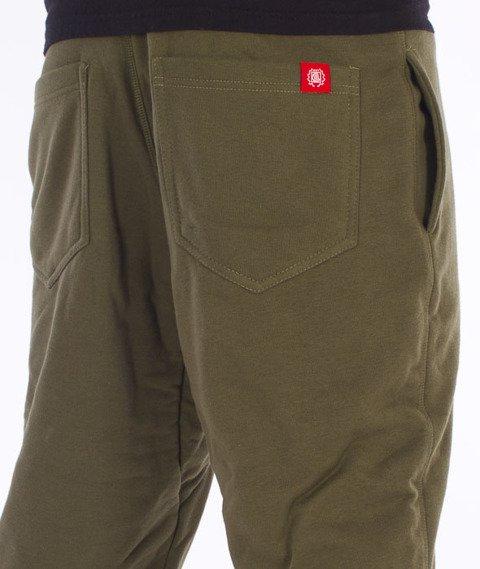 DIIL-Klasyk NO1 Spodnie Dresowe Khaki