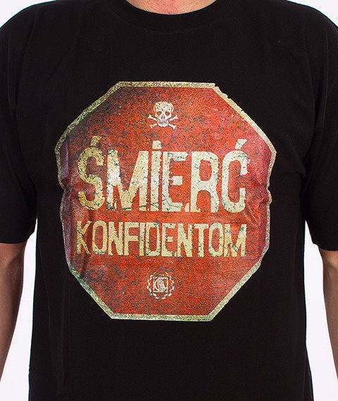 DIIL-Śmierć Konfidentom T-Shirt Czarny