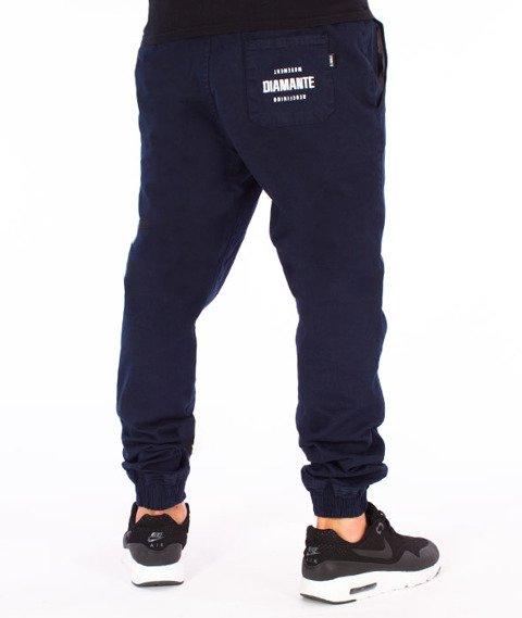 Diamante-Classic Jogger RM Spodnie Granatowe
