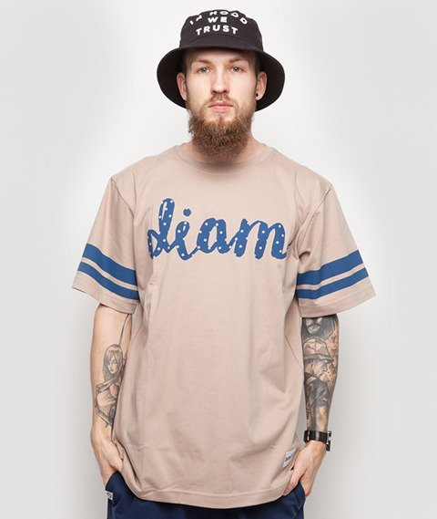 Diamante-Diam T-Shirt Beżowy