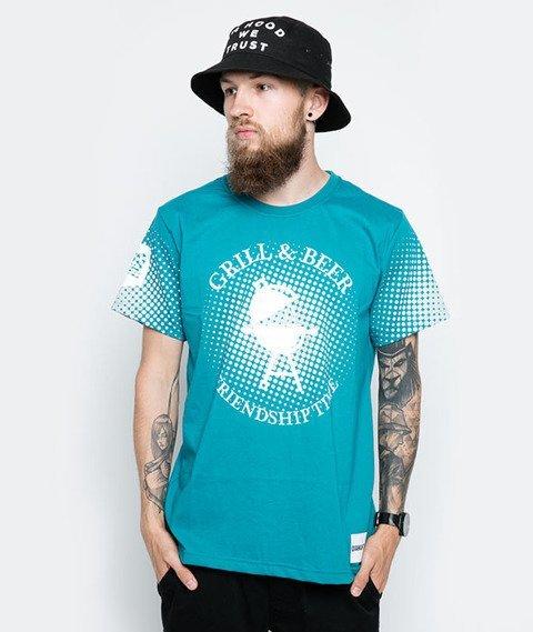 Diamante-Grill & Beer T-Shirt Morski