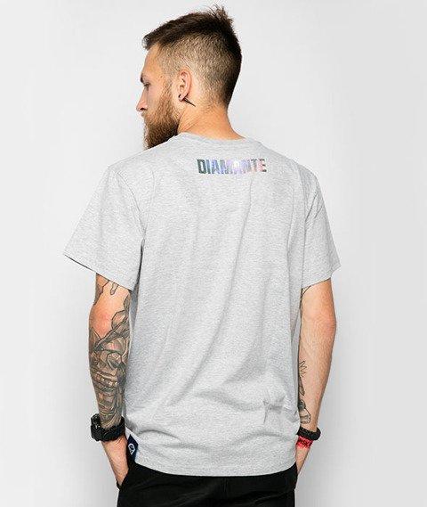 Diamante-Im Więcej Tym Lepiej T-Shirt Szary
