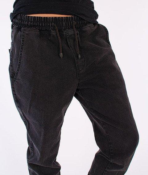 Diamante-Jogger Jeans Czarne
