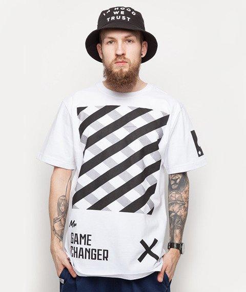 Diamante-Mr. Game Changer T-Shirt Biały