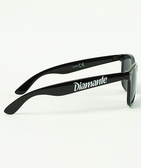 Diamante-Party Hard Okulary Czarne