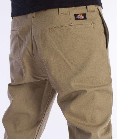 Dickies-WP803 Slim Skinny Pant Spodnie British Tan