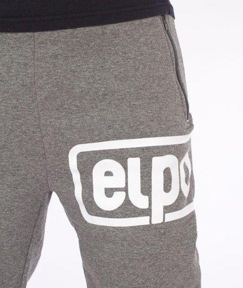 El Polako-Below Fit Spodnie Dresowe Ciemne Szare
