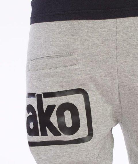El Polako-Below Fit Spodnie Dresowe Szare