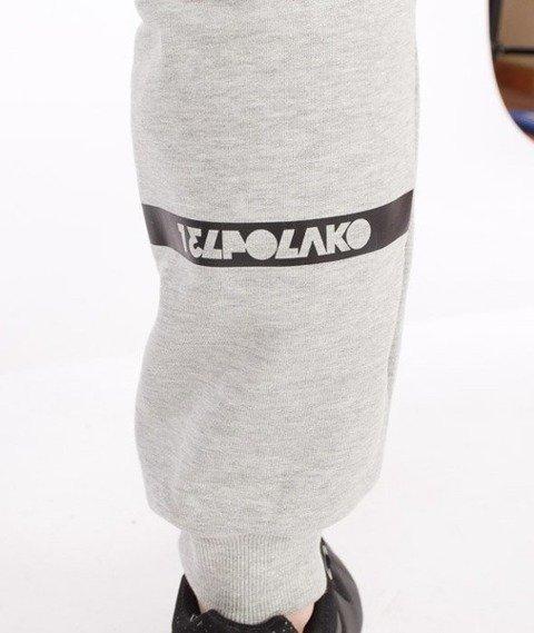 El Polako-Classic 08 Fit Spodnie Dresowe Szare