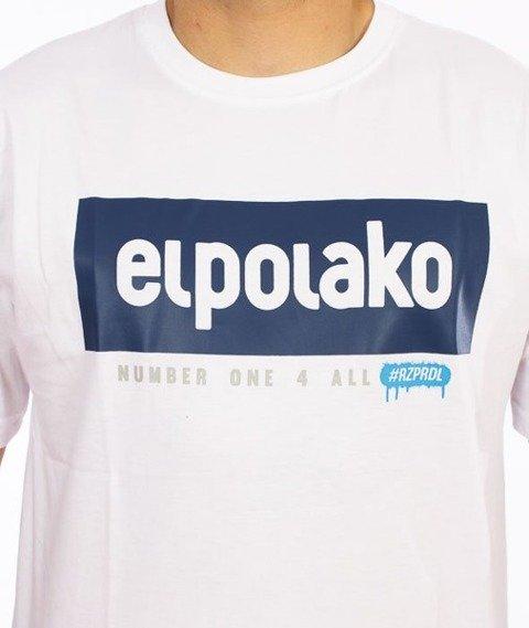 El Polako-Classic 08 T-Shirt Biały