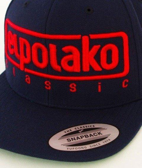 El Polako-Classic Snapback Granatowy