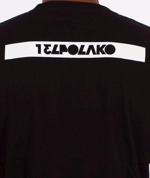 El Polako-Colorfull T-Shirt Czarny