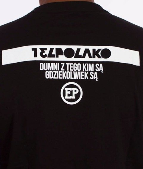 El Polako-Dumni Z Tego Kim Są T-Shirt Czarny