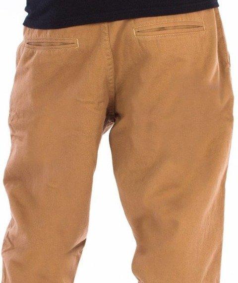 El Polako-ELPK Regular Jogger Jeans Brązowe