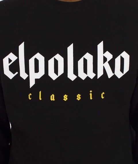 El Polako-Old Classic Bluza Czarna